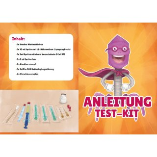 Phage test kit - method according to Appelman