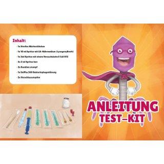 Phage test kit - method according to Appelman